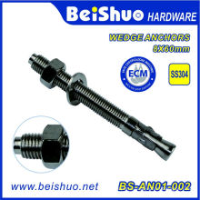 Concrete Wedge Anchor Bolts with Nuts & Washers